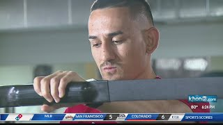 UFC 226 'Champ Camp' gets underway for Waianae's Max Holloway