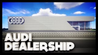 Minecraft - Audi Dealership