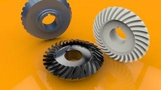 Solidworks Tutorial #6 Spiral Bevel Gear
