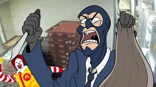 Spy robs a McDonalds
