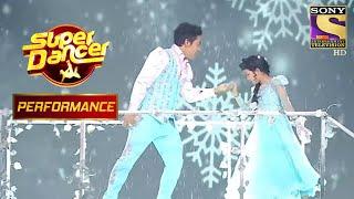 Aryan और Avastha के 'Frozen' Theme ने किया Sunil Shetty को खुश! | Super Dancer Chapter 3