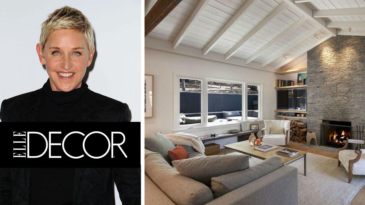 10 Things You Didnu0027t Know About Ellen DeGeneres | ELLE Décor
