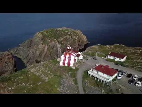 Drone Footage 4K DJI Mavic Pro - Bonavista Newfoundland