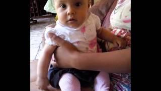 Minha sobrinha linda.