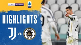 Juventus 3-0 Spezia | Serie A 20/21 Match Highlights HK