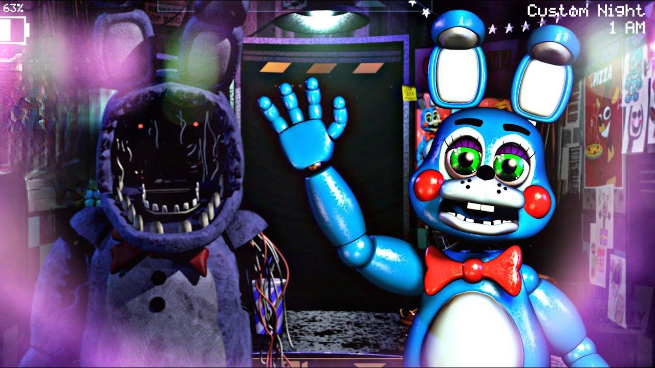 "Five Nights at Freddy's 2 Remake ""EL TERROR DE SCOTT"" - Another FNAF Fangame Open Source"