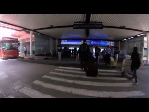 NAIA Manila International Airport Terminal 1, Taxi Service and Greeting Area, Manila Philippines.