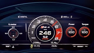NEW Audi RS4 2.9 BiTurbo B9 Acceleration & Sound