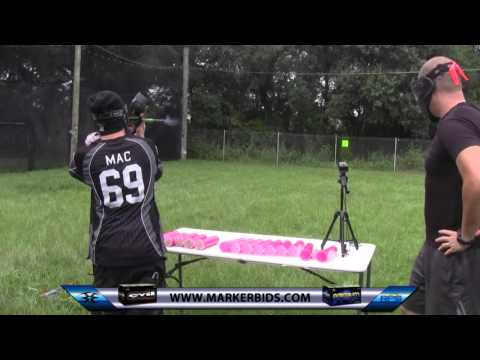 Dye M2 Paintball Gun Efficiency Test (Testing Rotor R2)
