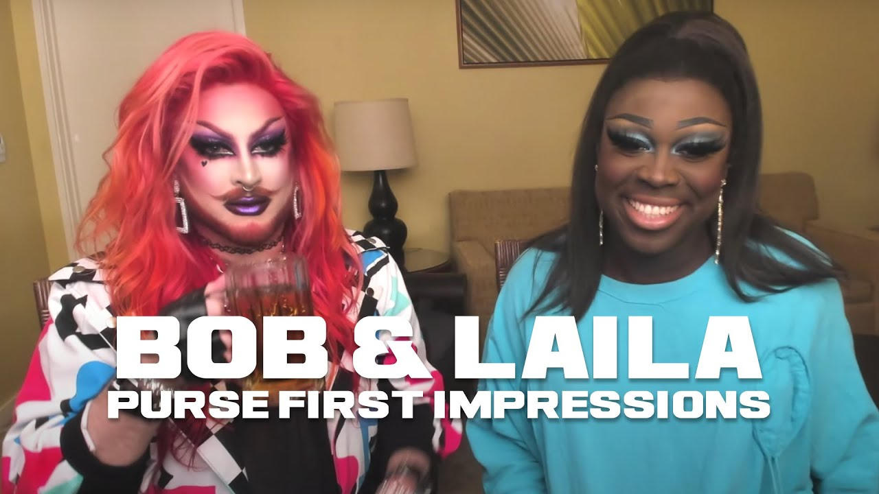 Download Bob The Drag Queen & Laila McQueen | Purse First Impressions | RPDR All-Stars 6 EP9: Drag Tots