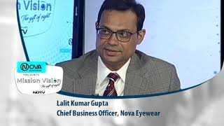 Chief Business officer of Vision Rx lab speaks about eye health on NDTV
