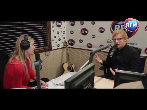 Ed Sheeran en interview chez Justine Fraioli