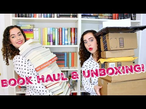 GIANT BEA BOOK HAUL & UNBOXING