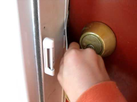 How To Simply Open A LOCKED Door With A Card