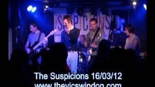 The Suspicions 16th March 2012 The Vic Swindon