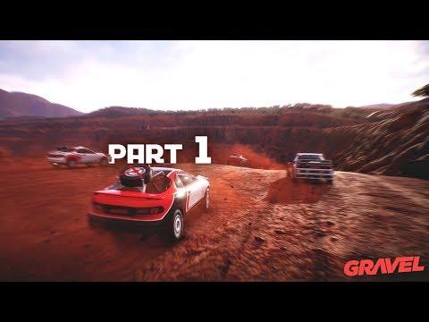 Gravel Career Mode Walkthrough Episode 1 - OFF-ROAD MASTERS | PS4 Pro Gameplay