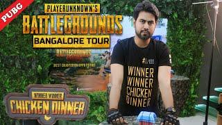 PUBG Bangalore Tour Vlog#1 | Winner Winner Chicken Dinner | Hindi