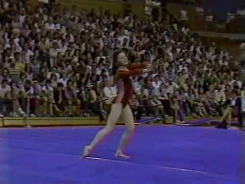 1982 USA-USSR gymnastics, men and women