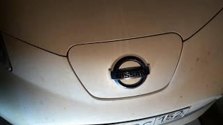 №4 Nissan Leaf AZE0 Замена масла в редукторе