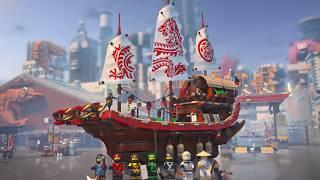 Destiny's Bounty - LEGO NINJAGO Movie - 70618 - Product Animation