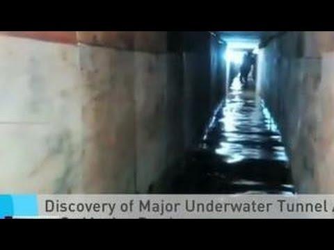 Обнаружен подводный тоннель для переправки наркотиков на границе Мексики и США