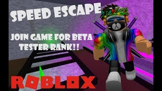 🔴NEW EXTREME MAP SPEED ESCAPE ROBLOX LIVE STREAM