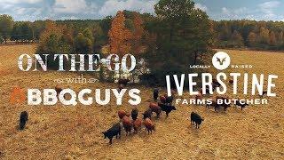 On the Go with BBQGuys | Heritage breed, free range, pork shoulder | Blaze Kamado