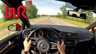 2015 Volkswagen GTI (Manual) - WR TV POV Test Drive (City)