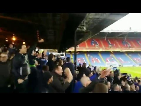 Leicester fans @ Crystal Palace, 19 March 2016
