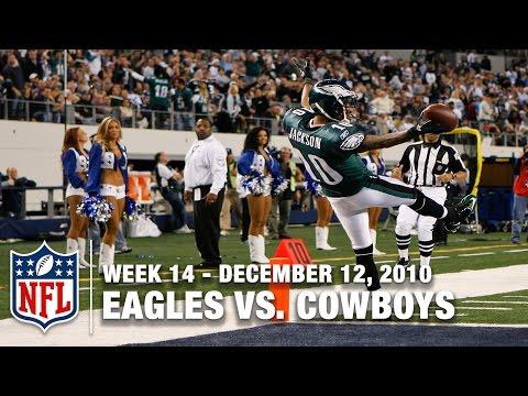 Mike Vick, DeSean Jackson & the Eagles beat the Cowboys (Week 14, 2010) | NFL