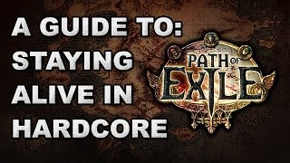Path of Exile: How to Stay Alive in Hardcore / Nemesis Leagues - Builds, Skills, Triggers & Tips