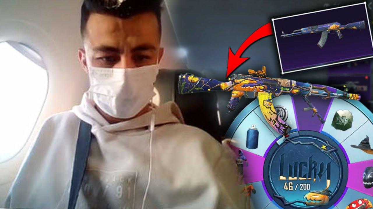 UÇAKTA YENİ KASAYA TEK ATTIM !! ( AK 47 ÇIKARDIM ) - Pubg Mobile