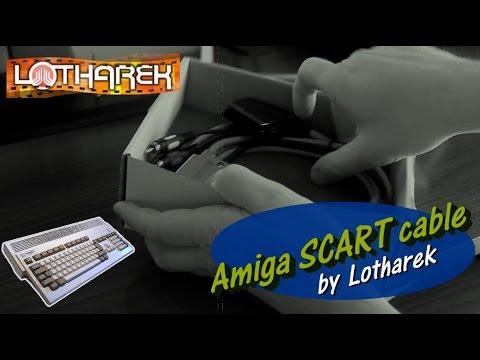 Amiga SCART cable