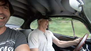 Mustie1 driving the 200 hp Vw Bug & abandoned Porsche found