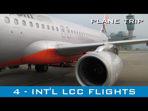 Plane Trip #4 - Photos & videos - LCC int'l flights (Cebu Pacific, Jetstar Asia, Indonesia AirAsia)