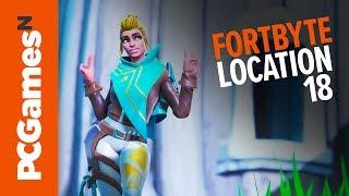 Fortnite Fortbyte guide - Number #18