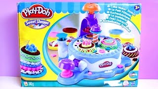 Play-Doh Sweet Shoppe Cake Makin' Station Play Dough Cake Factory Play Doh Food Toy Food ✿◕ ‿ ◕✿