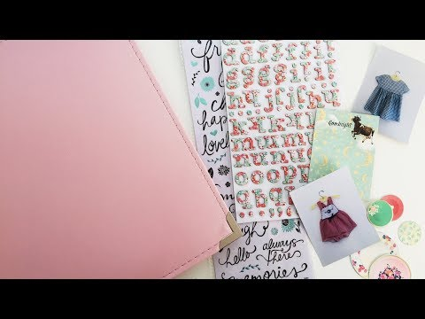 Creating A First Year Baby Book | EP 01 | Project Life Scrapbooking Baby Album