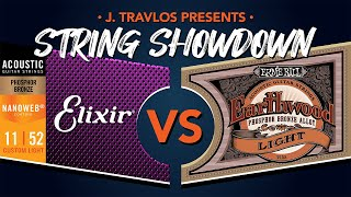 String Showdown: Ernie Ball Earthwood Phosphor Bronze vs Elixir Phosphor Bronze