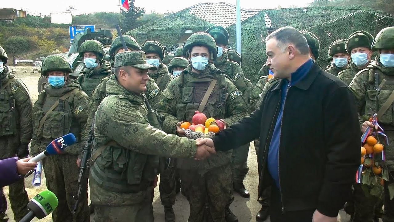 Благодарность жителей Нагорного Карабаха в адрес российских миротворцев