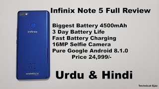Infinix Note 5 Full Review Urdu/Hindi