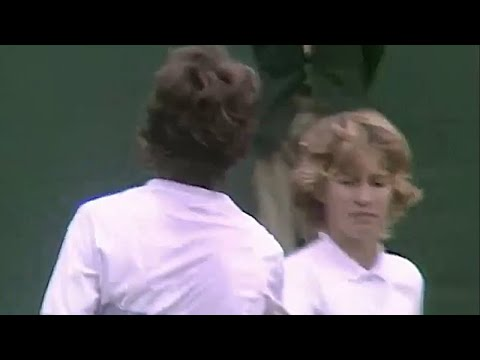 Jo Durie Vs Steffi Graf 1984 Wimbledon 4th Round Highlights