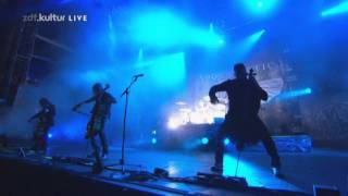 Apocalyptica 'On the rooftop with Quasimodo/2010' [Live at Wacken 2011] Proshoot HD