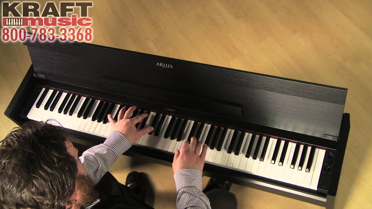 kraft music yamaha arius ydp s51 digital piano demo youtube. Black Bedroom Furniture Sets. Home Design Ideas