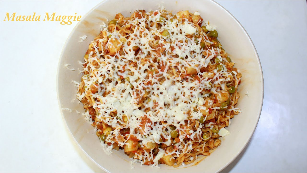 Weird food combinations: maggi with cheese