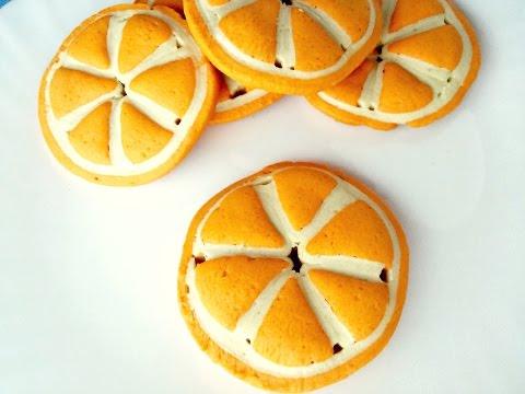 Печенье Апельсинка |Orange cookies|