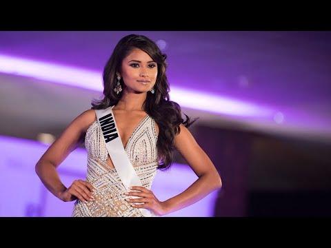 Miss Universe India Shraddha Shashidhar's Journey So Far At Miss Universe 2017