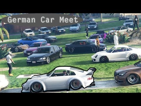 EPIC GTA 5 German Online Car Meet
