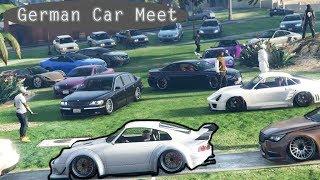 EPIC GTA 5 German Online Car Meet
