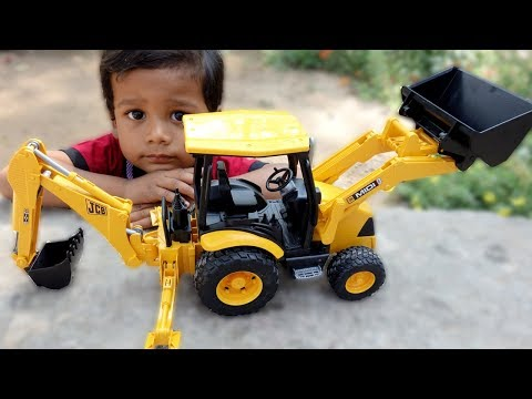 kids Playing with JCB | Video For Children | kids TV